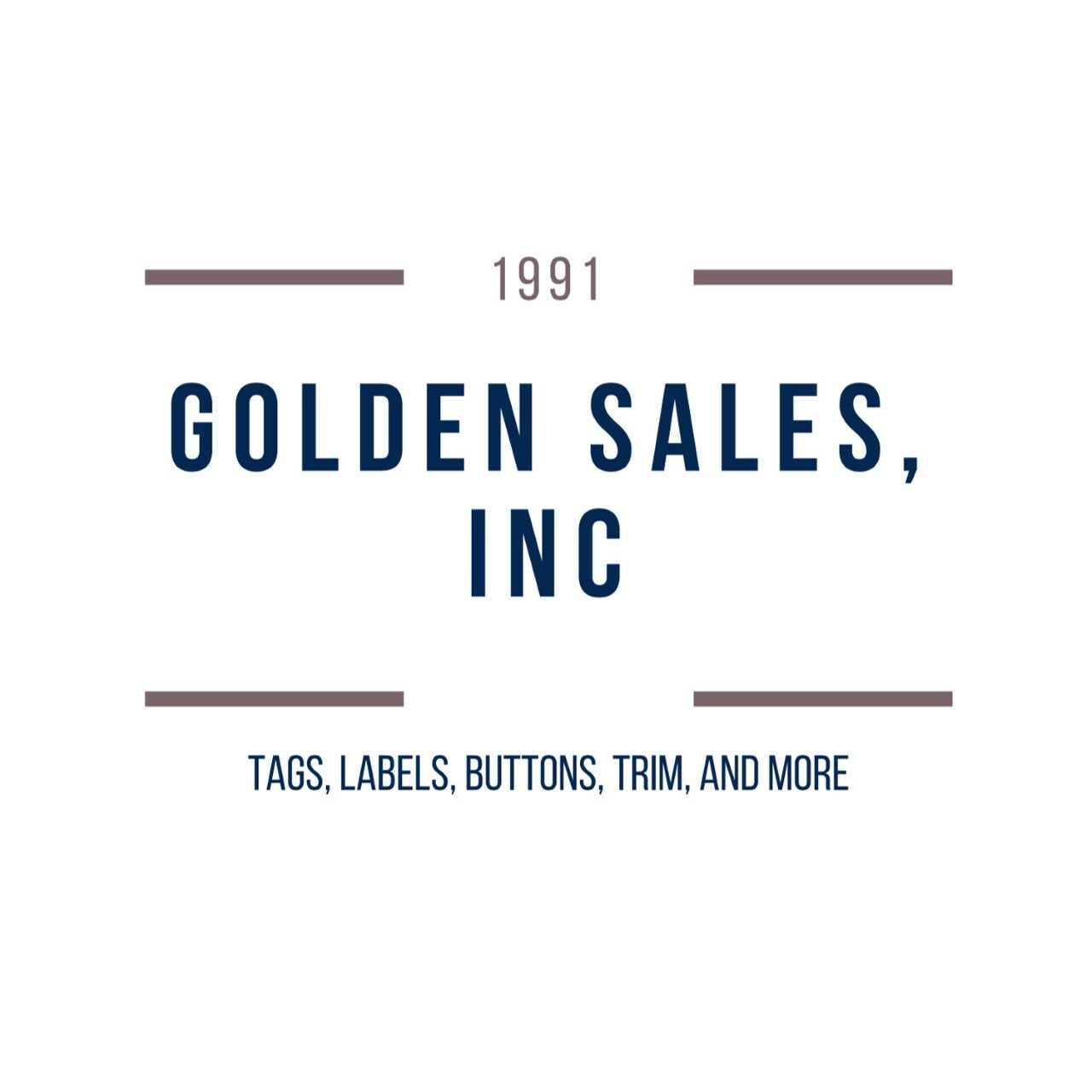 Golden Sales Inc: Printed & Woven Labels, Hangtags, Buttons, and Custom Apparel Goods!